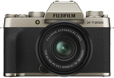Fujifilm X-T200 + 15-45mm Lens Gold