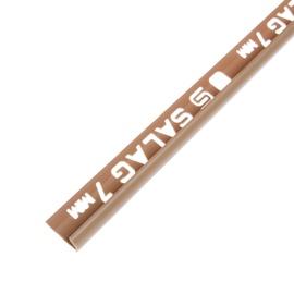 Plaadiliist 017008, 7 mm/2,5 m, karamellpruun