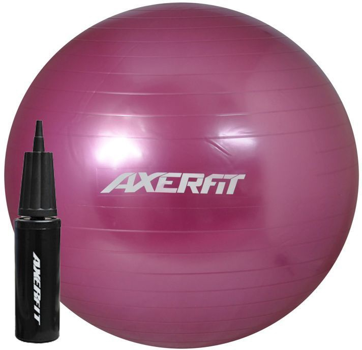 Axer Sport Standard Gym Ball 65cm Purple + Pump