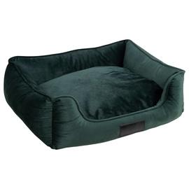 Кровать для животных VLX District70 Veluro S, зеленый, 600x500 мм