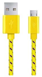 Esperanza Cable USB / USB-micro Yellow 2m