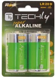 Techly Alkaline Batteries 1.5V 2x