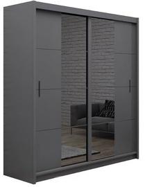 Stolar Porto Wardrobe 203x215x61cm Grey