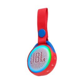 Belaidė kolonėlė JBL JR POP, vaikiška, raudona