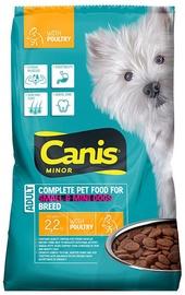 CANIS MINOR sausas pašaras šunims su paukštiena, 2,2 kg