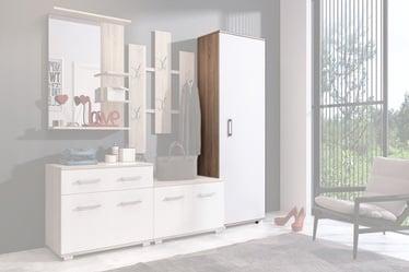 WIPMEB Lara Hallway Wardrobe Sonoma Oak/White