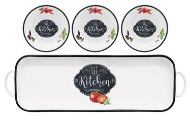 Serviravimo indų rinkinys Easy Life Kitchen Basics, 4 dalių