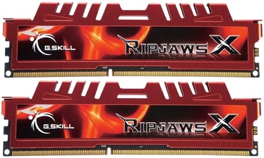 G.SKILL RipjawsX DDR3 Red 16GB 1600Mz CL10 DDR3 KIT OF 2 F3-12800CL10D-16GBXL
