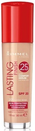 Rimmel London Lasting Finish 25h Foundation 30ml 201