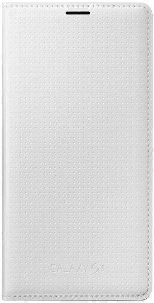 Samsung Original Book Flip Case For Samsung Galaxy S5/S5 Neo Dotted White