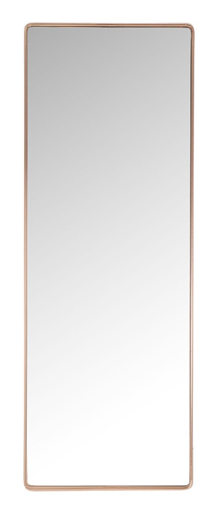 Spogulis Home4you Crystal Copper, stiprināms, 36x100 cm