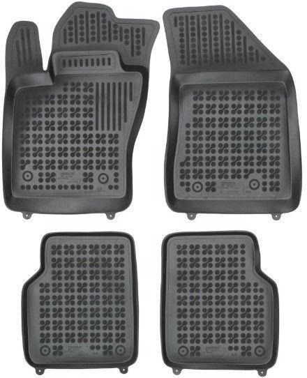 Резиновый автомобильный коврик REZAW-PLAST Jeep Compass II (MP/552) 2017, 4 шт.