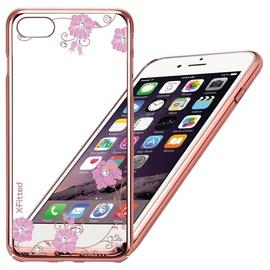 X-Fitted Graceland Swarovski Crystals Back Case For Apple iPhone 6/6s Rose Gold