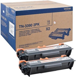 Brother Toner TN-3390 Twin Pack Black