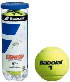 Tennisepall Babolat Championship, kollane, 3 tk