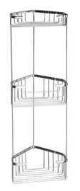 Gedy Wire Corner Triple Shower Shelf 2484-13