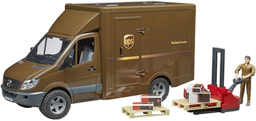 Bruder Mercedes Benz Sprinter Ups With Driver & Accessories 02538