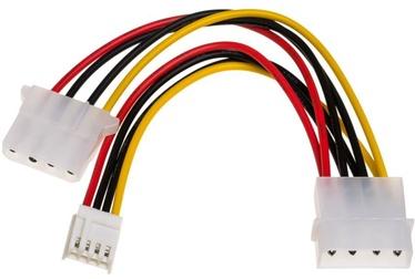 Akyga Adapter Molex x2 / Mini Molex 0.15m