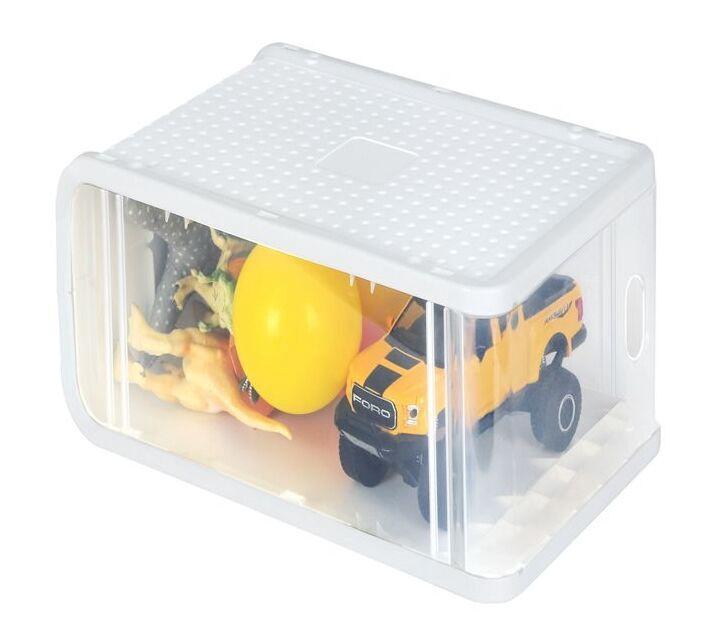 Songmics Plastic Shoe Box 8pcs Transparent