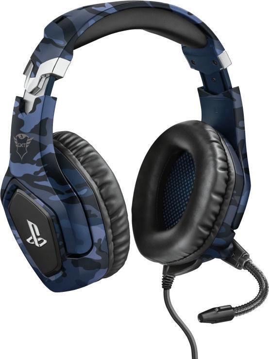 Наушники Trust GXT 488 Forze-B Over-Ear Gaming Headphones Blue