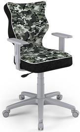 Детский стул Entelo Duo Size 5 ST33, черный/серый, 375 мм x 1000 мм