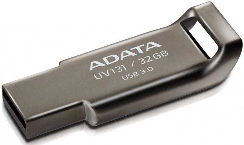 Adata 32GB UV131 USB 3.0 Chromium Grey