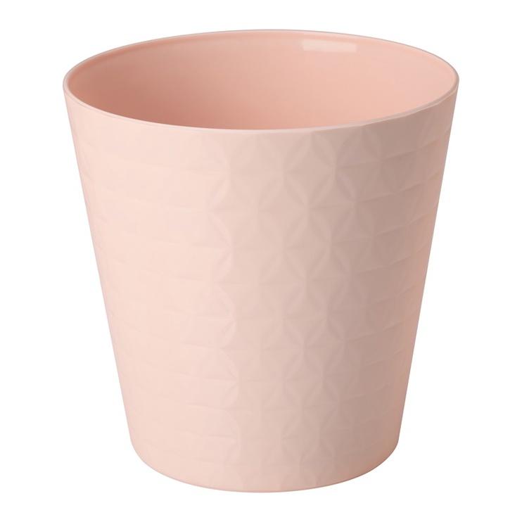 Вазон Form Plastic Diamond Petit Orchid 3780-066, розовый/кремовый