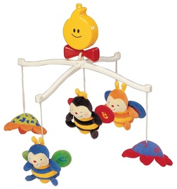 K's Kids Musical Cot Mobile Clever Bees