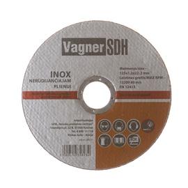 Pjovimo diskas Vagner SDH, 125 x 1.2 x 22.23 mm