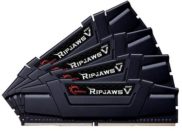 G.SKILL RipJawsV 64GB 3200MHz CL14 DDR4 KIT OF 4 F4-3200C14Q-64GVK