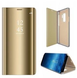 Чехол Mocco Clear View For Samsung Galaxy A42 5G, золотой