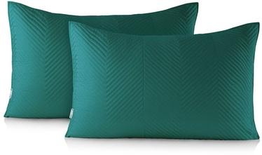 DecoKing Messli Pillowcase Ocean Green 50x70 2pcs