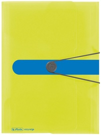 Herlitz Wallet Folder Easy Orga A4 Sporty Lemon 11365277