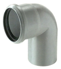 Magnaplast Elbow Pipe Grey 90° 50mm