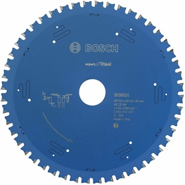 Bosch 2608643057 Circular Saw Blade Expert For Steel 210mm Blue
