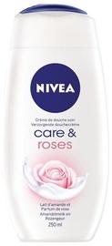 Nivea Care & Roses Shower Gel 250ml
