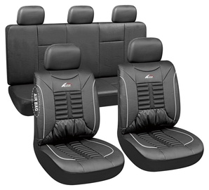 Autoserio Seat Cover Set AG-28876 11pcs Black