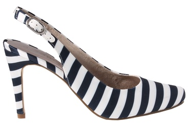 Tamaris Joie Pumps 1-1-29614-30 Navy Stripes 38