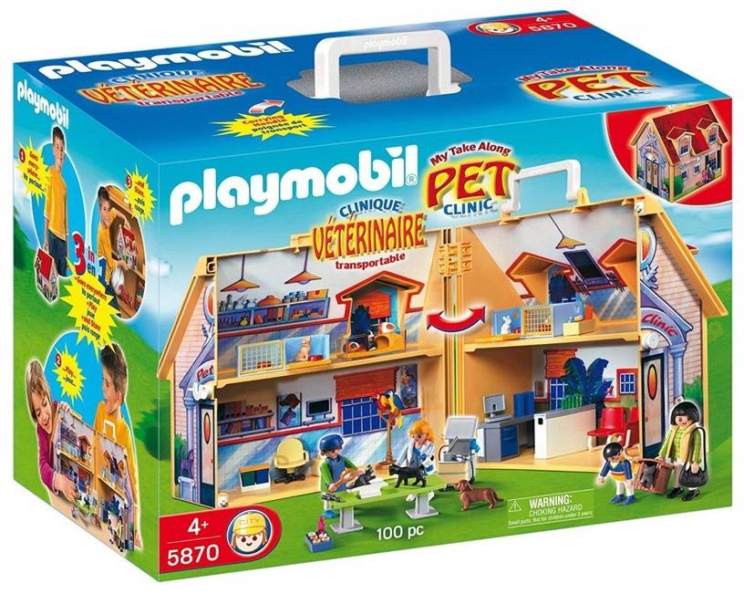 Playmobil Clinic Veterinary Set 5870