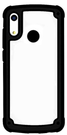 Hurtel Solid Frame With Bumper For Huawei Y6 2019 Black