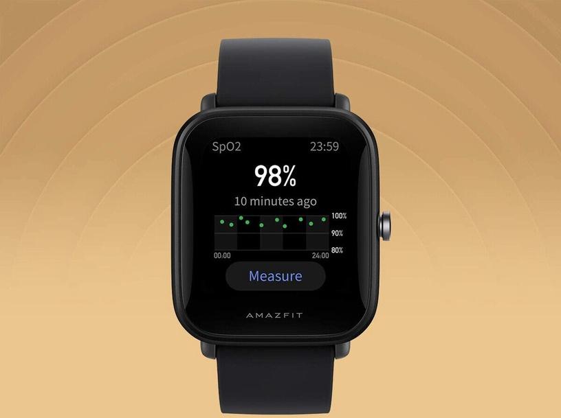 Išmanusis laikrodis Xiaomi AMAZFIT BIP U, juoda