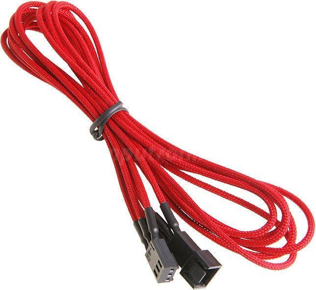 BitFenix 3-Pin Extension Cable 90cm Red/Black