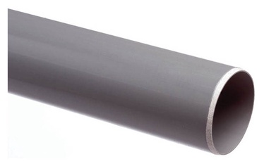 Vidaus kanalizacijos PVC vamzdis Wavin, Ø 50 mm, 0,5 m