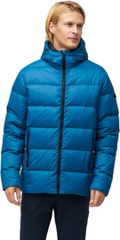 Audimas Mens Down Jacket Maroccan Blue L