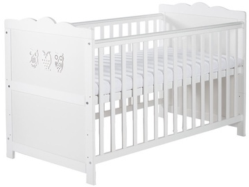 Klups MARSELL Cot-Bed 140x70cm White