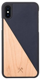 Woodcessories EcoSplit Back Case For Apple iPhone X Maple/Blue