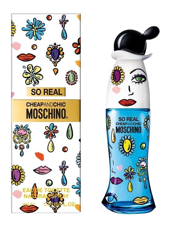 Tualettvesi Moschino So Real Cheap & Chic 50ml EDT
