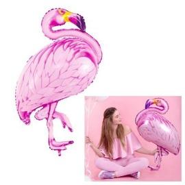 PartyDeco Фольгированный шар, 70 x 95 см, розовый / Фламинго