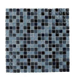 Stiklo mozaikos melsva A2057, 30x30 cm