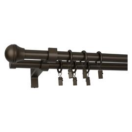 Dvigubo karnizo komplektas Domoletti Kulka Grawer, 160 cm, Ø 19 mm